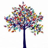 8254768-abstract-tree-with-all-flags-of-the-world